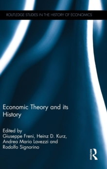 Economic Theory and its History, Hardback Book