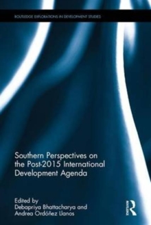 Southern Perspectives on the Post-2015 International Development Agenda, Hardback Book