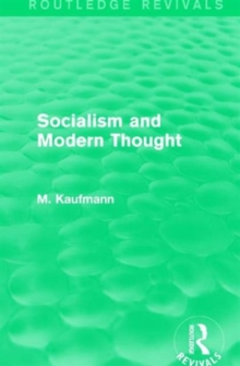 Socialism and Modern Thought, Hardback Book