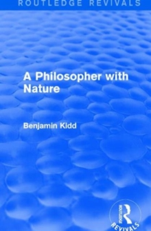 A Philosopher with Nature, Hardback Book