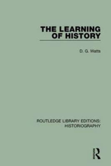 The Learning of History, Paperback / softback Book