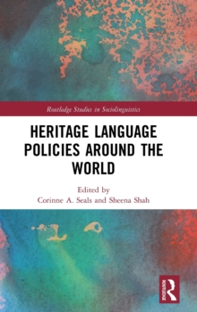 Heritage Language Policies around the World, Hardback Book