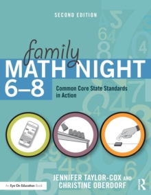 Family Math Night 6-8 : Common Core State Standards in Action, Paperback / softback Book