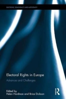 Electoral Rights in Europe : Advances and Challenges, Hardback Book