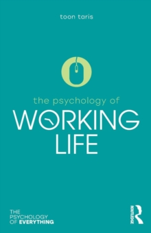 The Psychology of Working Life, Paperback / softback Book