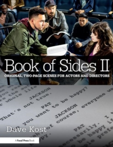 Book of Sides II: Original, Two-Page Scenes for Actors and Directors, Paperback Book