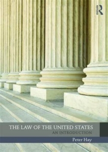 The Law of the United States : An Introduction, Paperback Book
