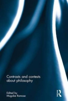 Contrasts and contests about philosophy, Hardback Book