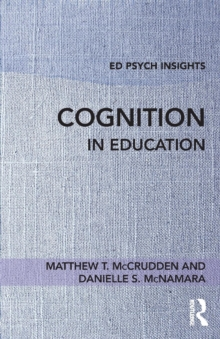 Cognition in Education, Paperback / softback Book