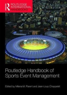 Routledge Handbook of Sports Event Management, Paperback / softback Book