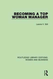 Routledge Library Editions: Women and Business, Hardback Book