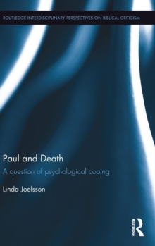 Paul and Death : A Question of Psychological Coping, Hardback Book