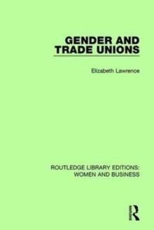 Gender and Trade Unions, Hardback Book