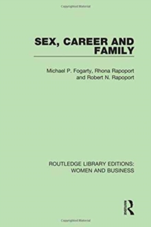 Sex, Career and Family, Hardback Book