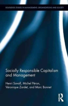 Socially Responsible Capitalism and Management, Hardback Book