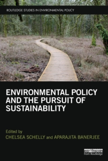 Environmental Policy and the Pursuit of Sustainability, Paperback Book