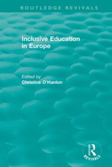 Inclusive Education in Europe, Paperback / softback Book