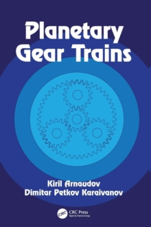 Planetary Gear Trains, Hardback Book