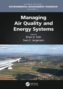 Managing Air Quality and Energy Systems, Hardback Book