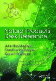 Natural Products Desk Reference, Hardback Book