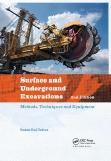 Surface and Underground Excavations : Methods, Techniques and Equipment, Paperback / softback Book