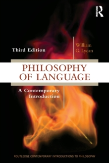 Philosophy of Language : A Contemporary Introduction, Paperback / softback Book