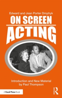 On Screen Acting : An Introduction to the Art of Acting for the Screen, Paperback / softback Book