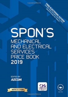 Spon's Mechanical and Electrical Services Price Book 2019, Hardback Book