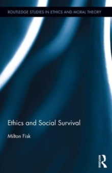 Ethics and Social Survival, Hardback Book
