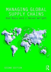 Managing Global Supply Chains, Paperback / softback Book