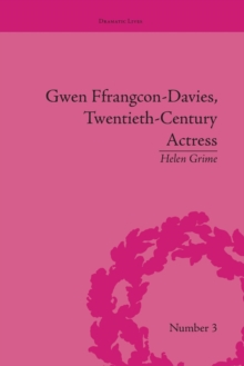 Gwen Ffrangcon-Davies, Twentieth-Century Actress, Paperback / softback Book