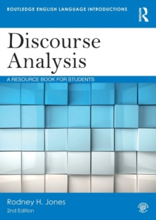 Discourse Analysis : A Resource Book for Students, Paperback / softback Book