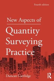 New Aspects of Quantity Surveying Practice, Paperback / softback Book
