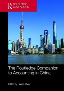 The Routledge Companion to Accounting in China, Hardback Book