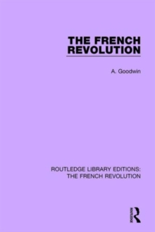 The French Revolution, Hardback Book