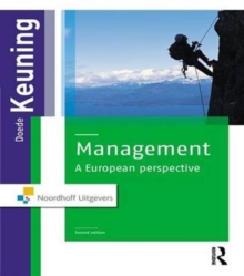 Management : A European Perspective, Hardback Book