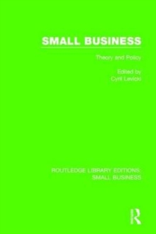 Small Business : Theory and Policy, Hardback Book