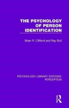 The Psychology of Person Identification, Hardback Book