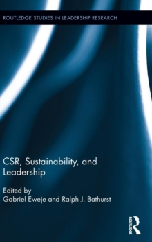 CSR, Sustainability, and Leadership, Hardback Book