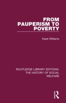 From Pauperism to Poverty, Hardback Book