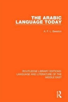 The Arabic Language Today, Hardback Book