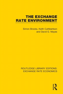 The Exchange Rate Environment, Paperback / softback Book