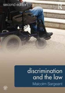 Discrimination and the Law 2e, Paperback / softback Book