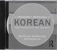 A Frequency Dictionary of Korean : Core Vocabulary for Learners, CD-ROM Book