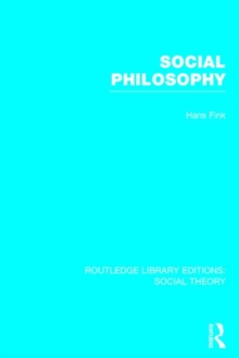 Social Philosophy, Hardback Book
