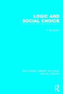 Logic and Social Choice, Hardback Book
