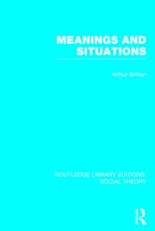 Meanings and Situations, Hardback Book