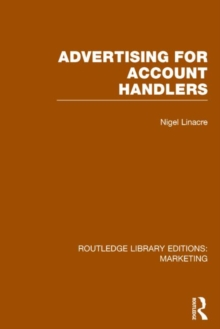 Advertising for Account Holders, Hardback Book