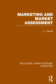 Marketing and Marketing Assessment, Hardback Book