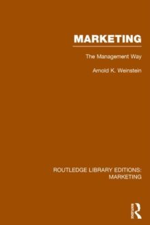 Marketing : The Management Way, Hardback Book